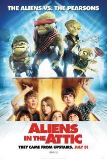 Aliens in the Attic (2009) มันมาจากข้างบนกับแก๊งซนพิทักษ์โลก