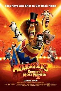 Madagascar 3 (2012) มาดากัสการ์ 3