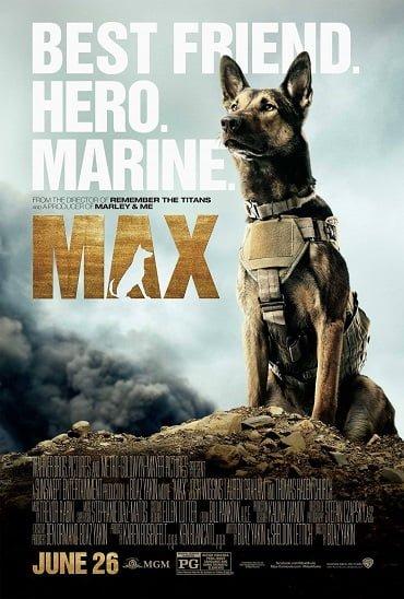 Max (2015) แม็กซ์ สี่ขาผู้กล้าหาญ