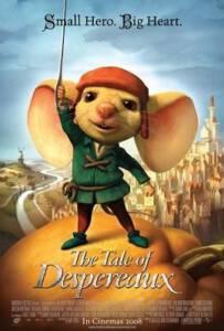 The Tale of Despereaux (2008) เดเปอโร…รักยิ่งใหญ่จากใจดวงเล็ก