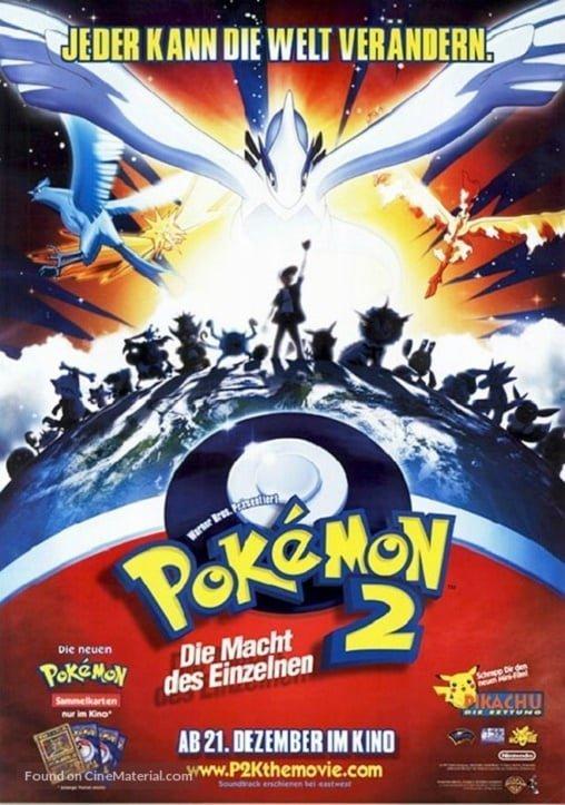 pokemon the movie 2 revelation lugia 1999 ����������� �������