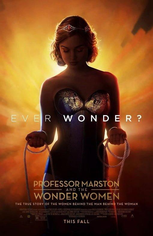 Professor Marston and the Wonder Women (2017) กำเนิดวันเดอร์วูแมน
