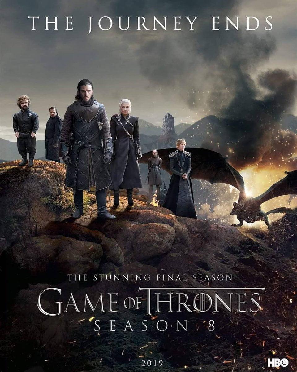 มหาศึกชิงบัลลังก์ ปี 8 Game of Thrones Season 8 2019